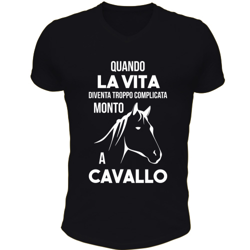 T-Shirt Scollo V