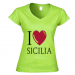 Women's V-neck T-shirt 16.90 €