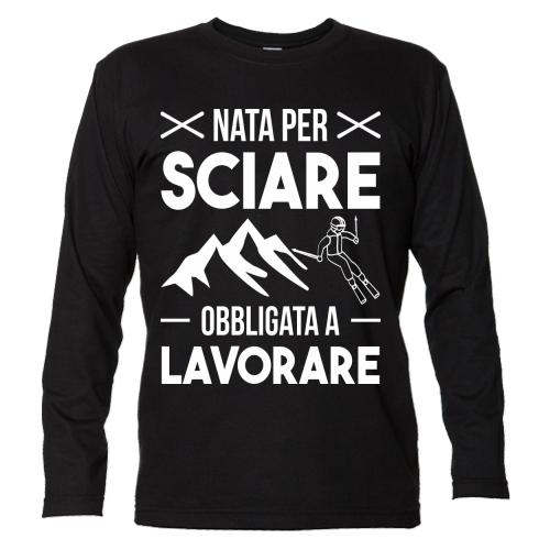 T-shirt Unisex Manica Lunga