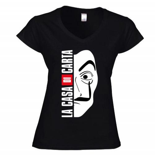 T-shirt Donna Scollo v
