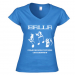 Women's V-neck T-shirt 13.00 €