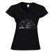 Women's V-neck T-shirt 26.25 €
