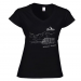 Women's V-neck T-shirt 24.90 €