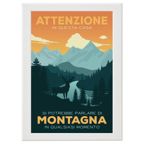 Poster con Cornice 40x60
