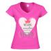 Women's V-neck T-shirt 18.25 €