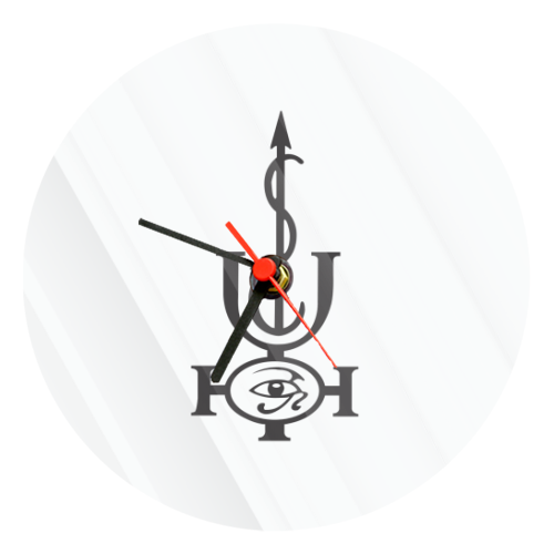 Orologio Vetro Tondo